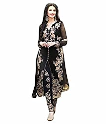 Marmic Fab Women's Georgette Unstitched Dress Material