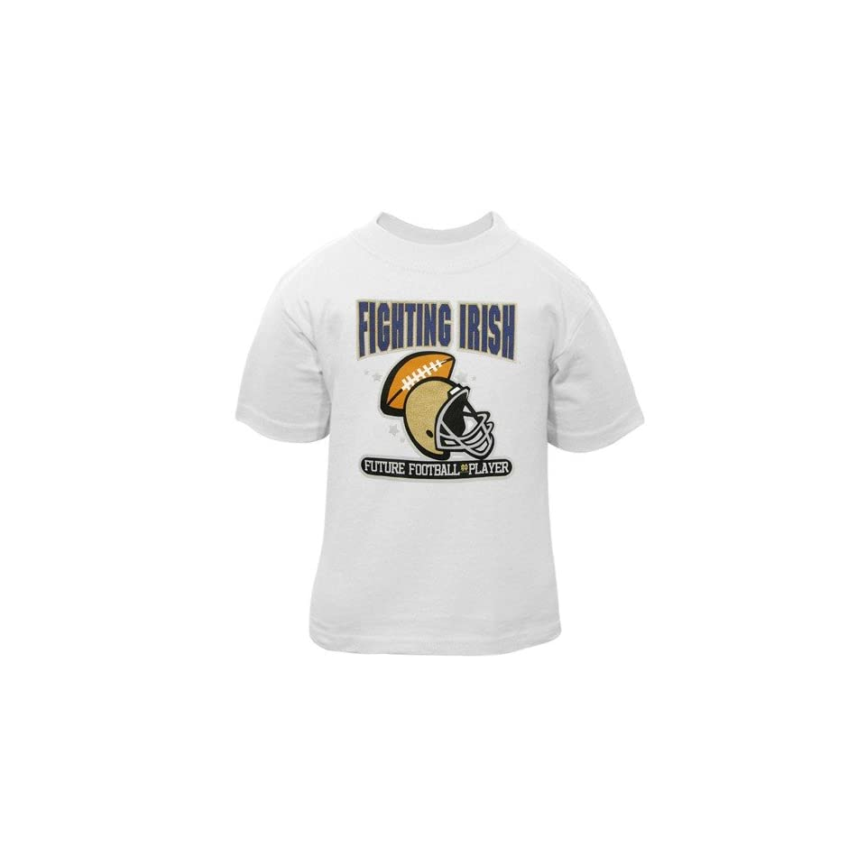adidas Notre Dame Fighting Irish White Infant Future Football Player T shirt