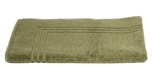 TowelSelections Pearl Collection Luxury Soft Towels - 100% Turkish Cotton, Made in Turkey, Moss, Bath Mat