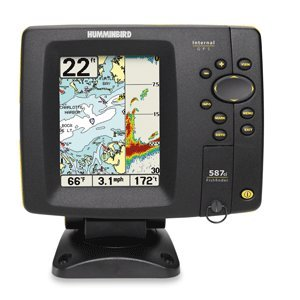 Humminbird 587ci 4 5 inch waterproof marine gps and for Best rated fish finder