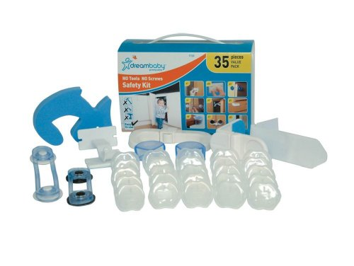 Dreambaby No Tools No Screws Safety Kit - 35 Pieces