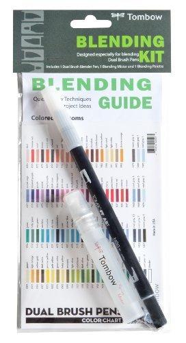tombow-blending-kit-for-dual-brush-pens-includes-blending-palette-colorless-blender-spray-mister-and