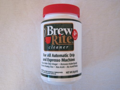 Brew Rite Coffee Maker Cleaner New