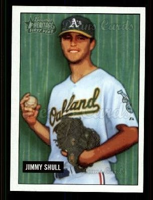2005-bowman-heritage-326-dp-first-year-draft-pick-jimmy-shull-oakland-athletics-baseball-card-deans-