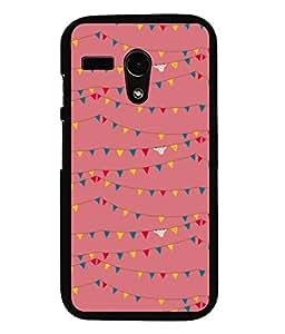 printtech Abstract Lines Design Back Case Cover for Motorola Moto G X1032::Motorola Moto G (1st Gen)