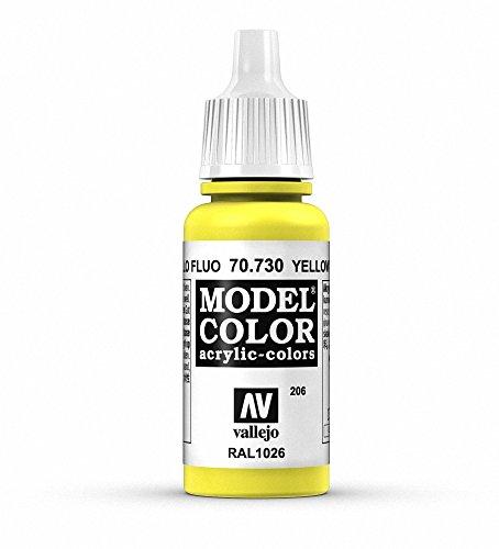 Vallejo Yellow Fluorescent Paint, 17ml