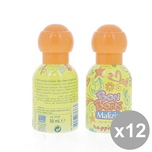 Set 12 MALIZIA Eau de Toilette Donna 50 Bonbons Happiness Profumi per il corpo