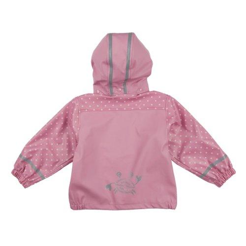 BORNINO Regenjacke Baby-Jacke Regenbekleidung, Größe 74/80, rosa -