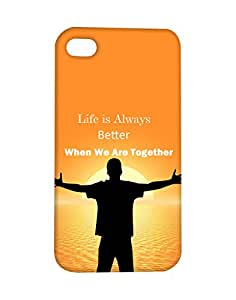 Mobifry Back case cover for Apple iPhone 4s Mobile ( Printed design)