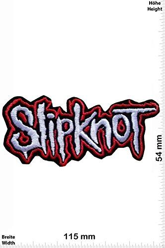 Patch - Slipknot - HQ - MusicPatch - Rock - Chaleco - toppa - applicazione - Ricamato termo-adesivo - Give Away