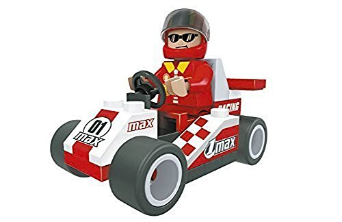 Ausini Racing Car with Action Figures Building Bricks 36pc Educational Blocks Set Compatible to Lego Parts - Great Gift for Children (Car Building Set compare prices)