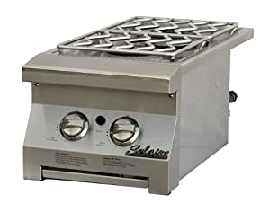 Solaire Double Built-In Side Burner for Propane Grills, Stainless Steel at Sears.com