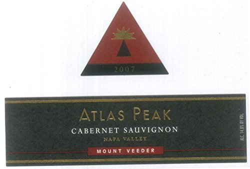 2007 Atlas Peak Cabernet Sauvignon, Mount Veeder 750 Ml