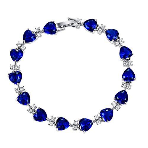 Donna Bracciale braccialetto alla moda cristallo 18 cm spatzl migliori regali, lega metallica, colore: Color 2, cod. C_2WE 0149