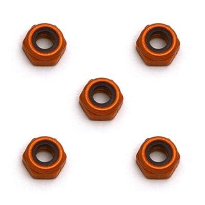 Team Associated 4449 4/40 Mini Aluminum Locknuts (5)