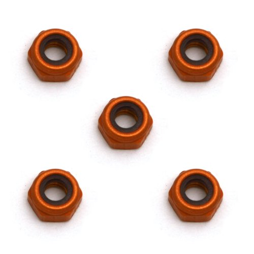 Team Associated 4449 4/40 Mini Aluminum Locknuts (5)