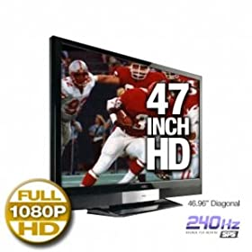 413ujR9cDHL. SL500 AA280  VIZIO SV471XVT 47 inch LCD HDTV   $1,199 Shipped