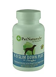 Pet Naturals K-9 Slim Down Plus 60 Tabs