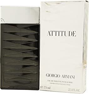 Armani Attitude By Giorgio Armani For Men, Eau De Toilette Spray, 1.7-Ounce Bottle