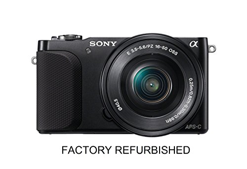 Sony NEX-3NL-BLK 16.1 MP Compact Interchangeable Lens Digital Camera Kit