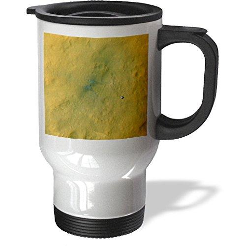 Florene - Space - Print Of Nasa Curiosity Rover Leaves Tracks On Mars - Travel Mug - 14Oz Stainless Steel Travel Mug - Tm_196312_1