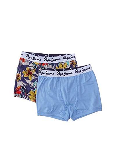 Pepe Jeans London Pack x 2 Bóxers Underboy Multicolor