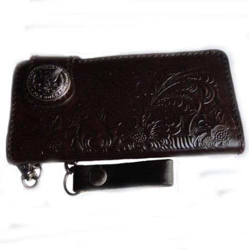 U.S ฺBlack Horse !! Biker / Trucker Clutch Wallet
