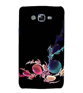 printtech Bubble Abstract Design Back Case Cover for Samsung Galaxy J1::Samsung Galaxy J1 J100F