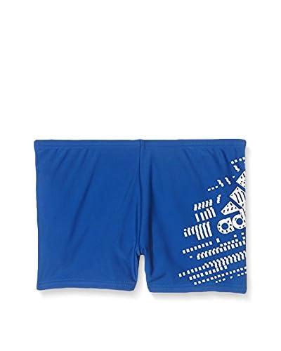 adidas Badehose BTS BX PL KB blau/weiß