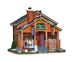 Lemax Village Building Hearth & Home Quilt Shoppe 8.25\