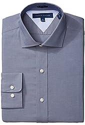 Tommy Hilfiger Men's Slim-Fit Button-Front Shirt