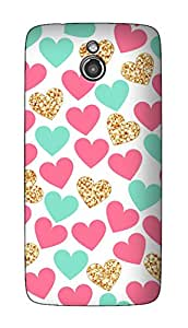 SWAG my CASE PRINTED BACK COVER FOR INFOCUS M2 Multicolor