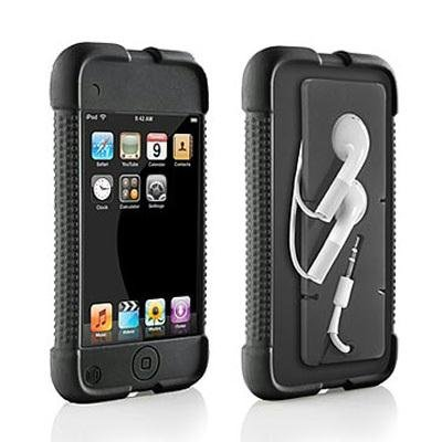 DLO Jam Jacket with Cord Management and Surface Shields for iPod touch (Black)