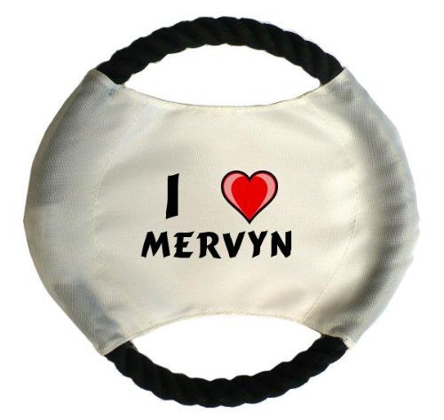personalized-dog-frisbee-with-name-mervyn-first-name-surname-nickname