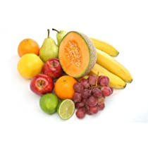 Colorful Group of Fresh Fruits - Peel and Stick Wall Decal by Wallmonkeys