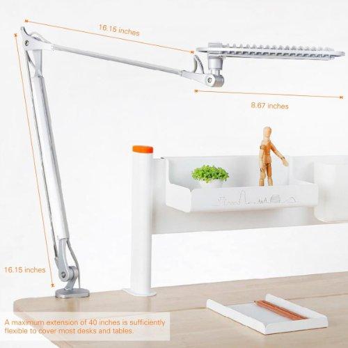 T4 Daylight White LED Desk Lamp Table Lamp Eyecaring LED Lamp – Daylight Desk Lamp
