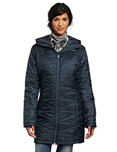 Columbia Women's Mighty Lite Hooded Jacket, Mystery, X-Large