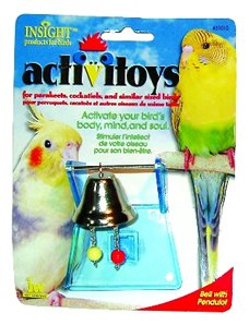 Cheap JW Pet Company 080-31010 JW Pet Company Insight Bell With Pendulot Small Bird Toy Assort Colors (080-31010)