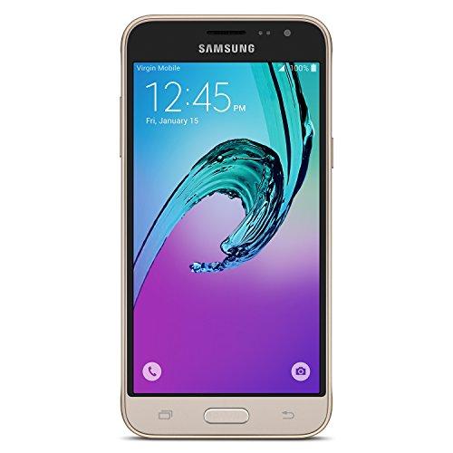 Samsung Galaxy J3 2016 - No Contract Phone - Gold - Virgin Mobile