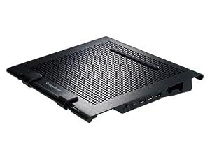 """Cooler Master - R9-NBS-USTD-GP - Notepal U Stand Support de refroidissement pour PC Portable jusqu'à 17"""""""