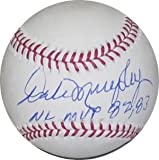 Dale Murphy signed Official Major League Baseball NL MVP 82, 83