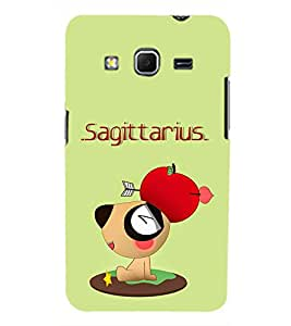 TOUCHNER (TN) Sagittarius Back Case Cover for Samsung Galaxy Core Prime G360