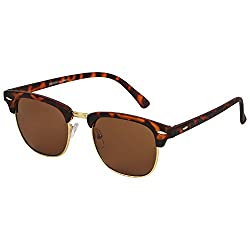 Eccellente Wayfarer UV Protected Sunglasses Brown