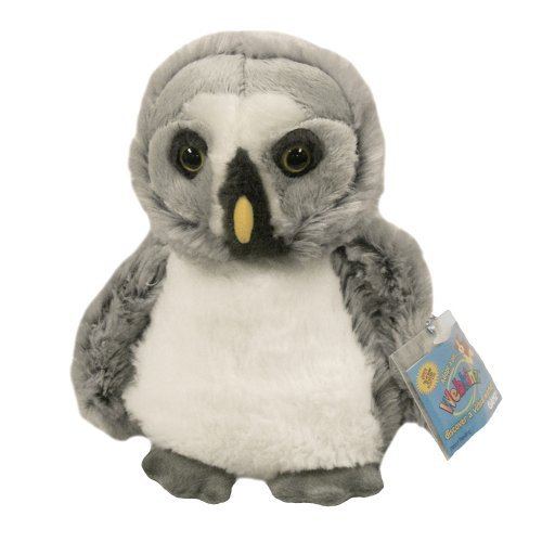 Webkinz Grey Owl with 3 pack cards - 1
