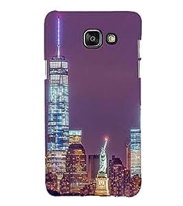 Printvisa Premium Back Cover Newyork Night View Design For Samsung Galaxy A7 (2016)::Samsung Galaxy A7 (2016) Duos with dual-SIM card slots