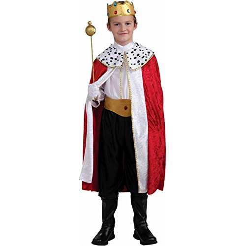 Regal King Kids Costume