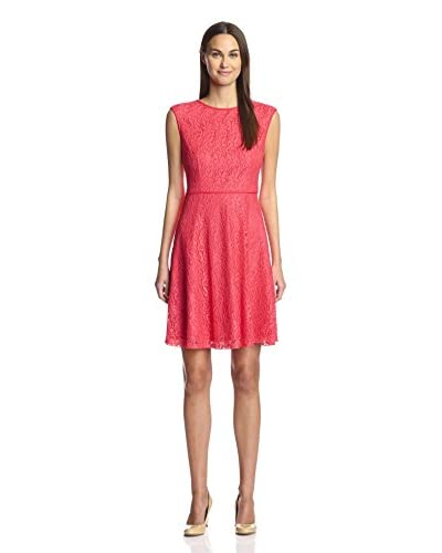 London Times Women's Fit and Flare Dress