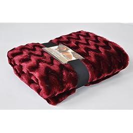 O cama de matrimonio Snuggle Up manta de pelo sintético/manta en color crema (130 cm x 180 cm)