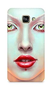 Amez designer printed 3d premium high quality back case cover for Samsung Galaxy A3 (2016 EDITION) (Painting women)