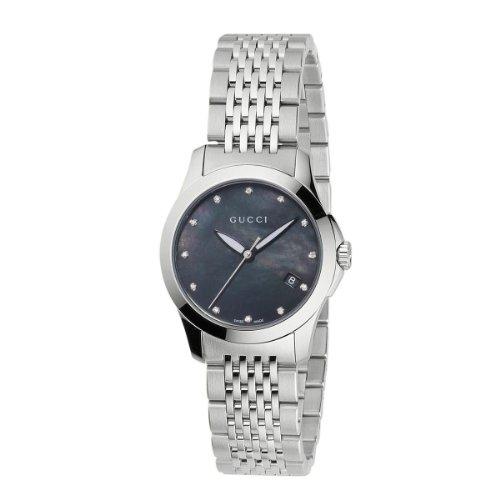 Gucci donna-orologio XS g-Timeless al quarzo in acciaio inox YA126505